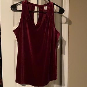 New with tags- velvet tank
